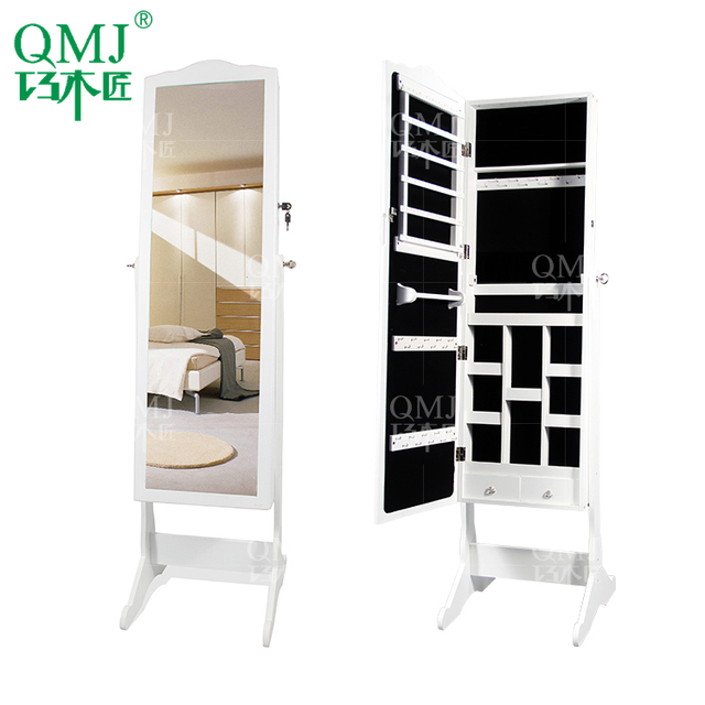 Mirrored Cabinets Living Room Country Furniture Pictures High Quality Bedroom Lady Dressing Mirror Cabinet Jewelry Makeup Organizer