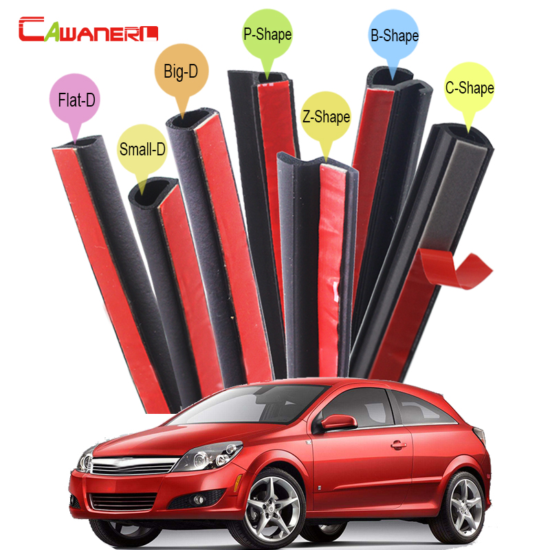 Cawanerl Rubber Car Seal Sealing Strip Kit Sound Insulation Seal Edging Trim Weatherstrip For Saturn L-Series Ion Aura Astra cawanerl whole car seal sealing strip kit sound insulation seal edging trim rubber weatherstrip for lincoln continental ls mks