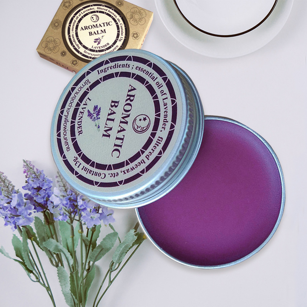 Lavender Sleepless Cream Improve Sleep Soothe Mood Aromatic Cream Insomnia Relax Aromatic Balm Fragrances & Deodorants TSLM1