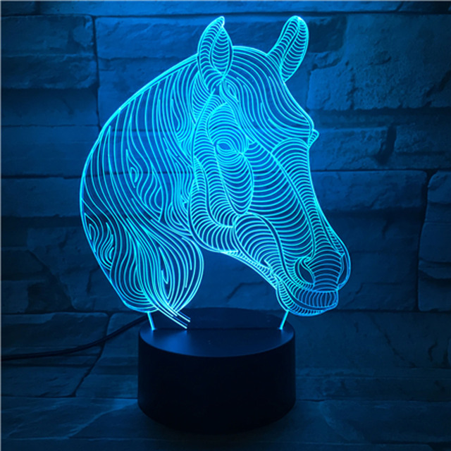 7 Color Change Table Lamps For Living Room Desk Lamp Malaysia Remote Touch Led Nightlight Gift Lighting