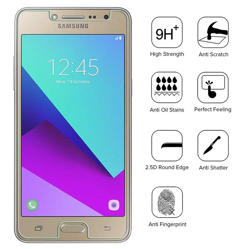 9H 2.5D Tempered Glass For <font><b>Samsung</b></font> Galaxy <font><b>J2</b></font> J3 J4 J6 J7 J8 <font><b>2018</b></font> S6 S8 Active Core Xcover 3 4 Protective Film <font><b>Screen</b></font> Protector image