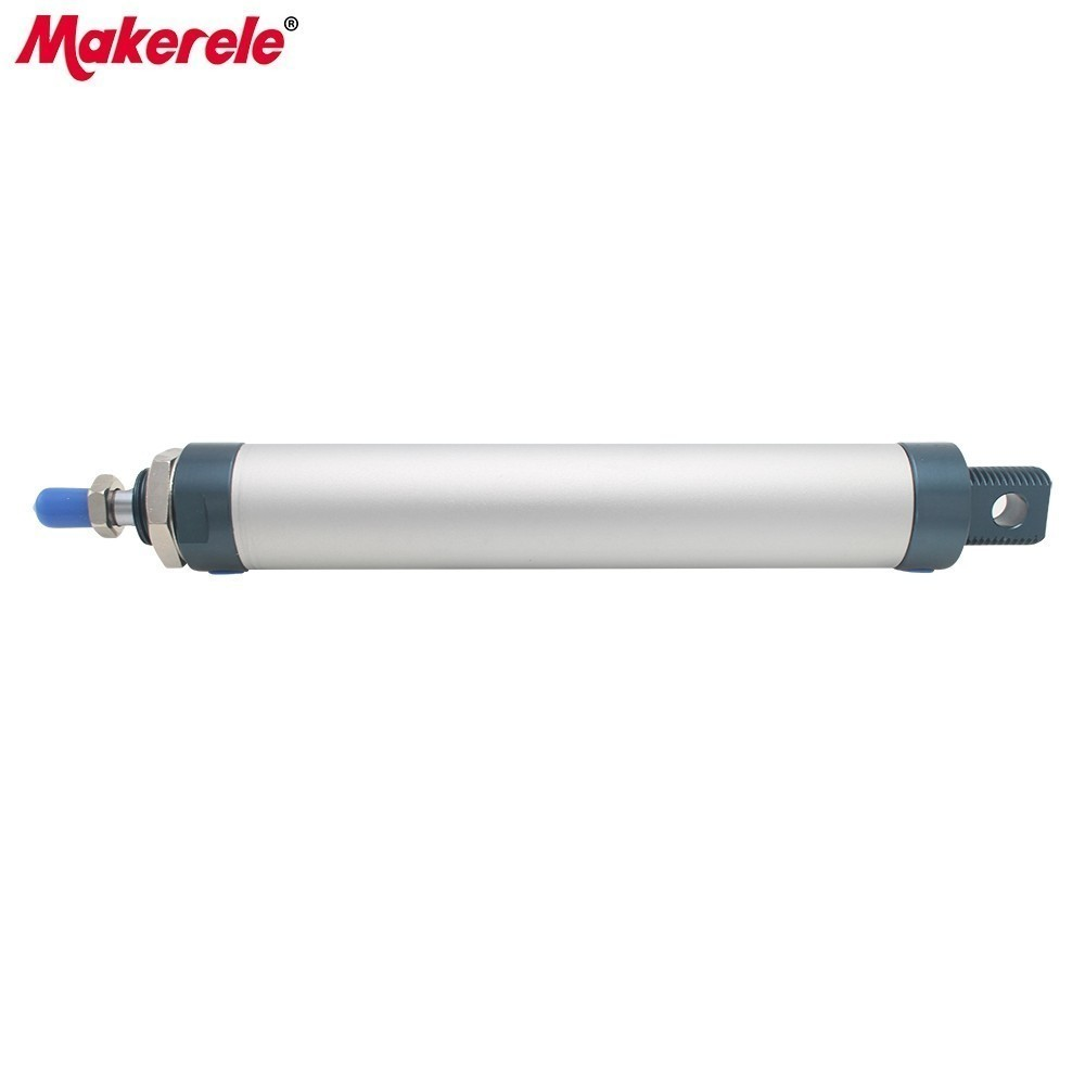 Aluminum Alloy Pneumatic Cylinder Mini Double Acting Air Cylinder 32mm Bore 150 Stroke Fishtailing Shape Cylinders MAL32-150-CA mal40 275 high quality double acting pneumatic small cylinders aluminum alloy 40mm bore 275mm stroke mini air cylinder