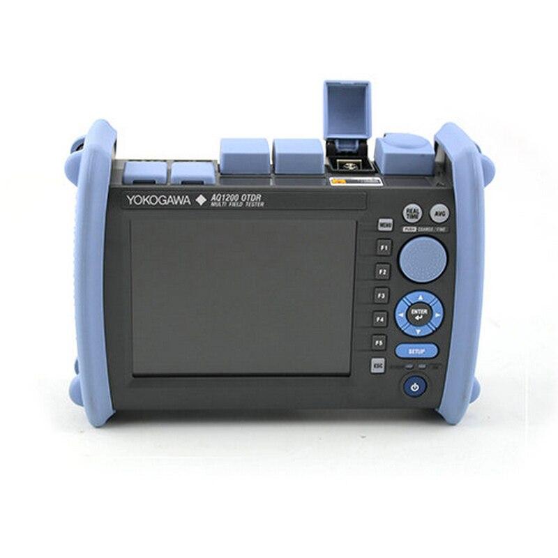 FTTH OTDR Yokogawa AQ1200 OTDR с 1310/1550nm 34/32dB волокно оптический тестер