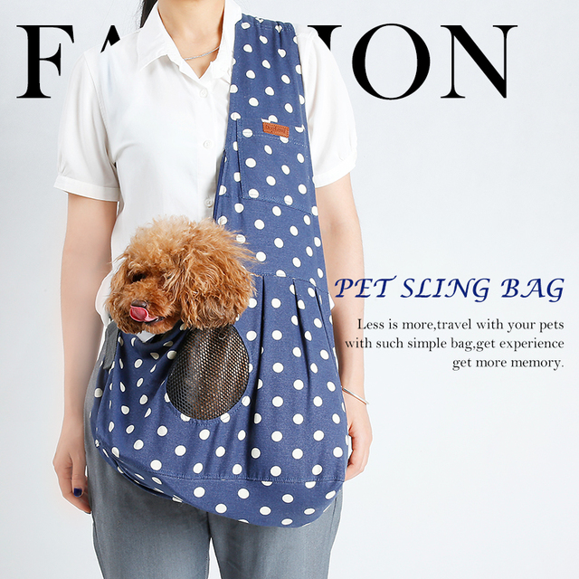 Pet Carrier Puppy Small Animal Dog Carrier Sling Front Travel Tote Custom Dog Sling Pattern