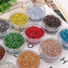 500pcs color beads Cylindrical Glass Beads For Necklace Bracelets Earring Loose Beads DIY Jewelry Making accessory 500pcs 12mhz 3 8mm passive cylindrical quartz crystal oscillator