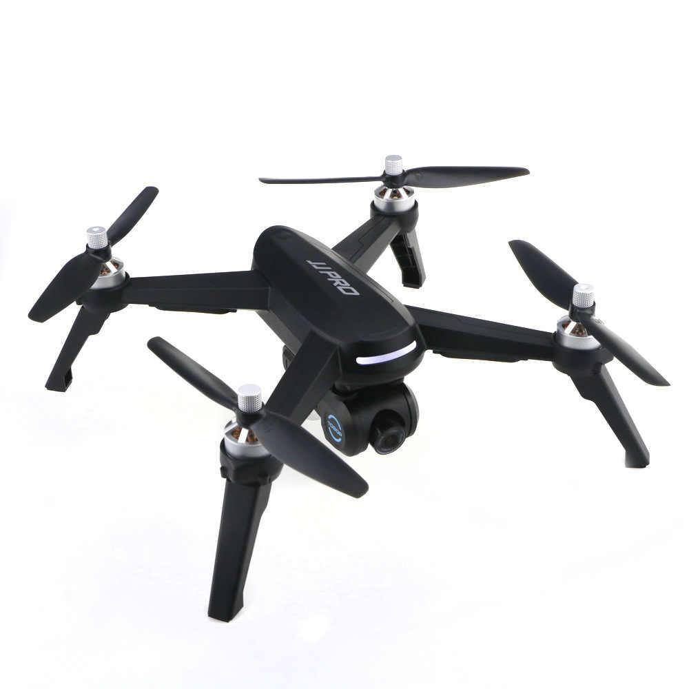 JJRC JJPRO GPS 5G WiFi 1080P FPV RC Drone RTF profesional Quadcopter una retorno clave 3 quadrocopter pieza con bolsa
