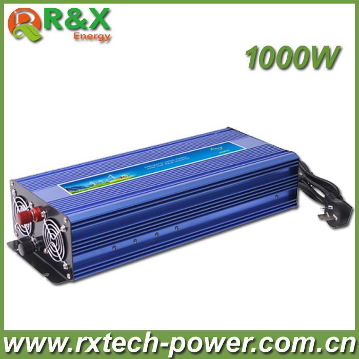 HOT SALE!! 1000W Off Grid Inverter Pure Sine Wave Inverter DC12V or 24V or 48V input, Wind Turbine Inverter 400w wind generator new brand wind turbine come with wind controller 600w off grid pure sine wave inverter