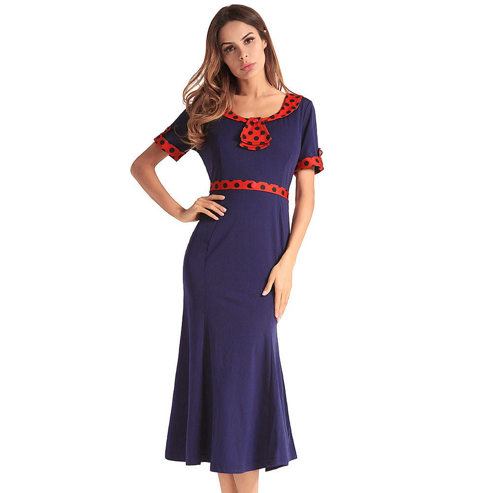 La MaxZa Sweet Casual Office Lady Women Dress ladies dresses Sashes Dresses Vestidos