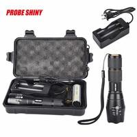 Alta qualidade brilhante 5000lm x800 g700 shadowhawk cree t6 led lanterna tocha lâmpada luz kit