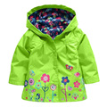 2017 New Children Spring Autumn Winter Outwear Hooded Jacket Girls Jackets Jacket & Coats Children's Waterproof Coat 5 Color