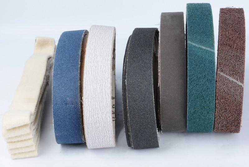New 10pcs 760*40mm 80#-800# Abrasive Sanding Belt On Metal Belt Grinder For Polishing  Wire Drawing