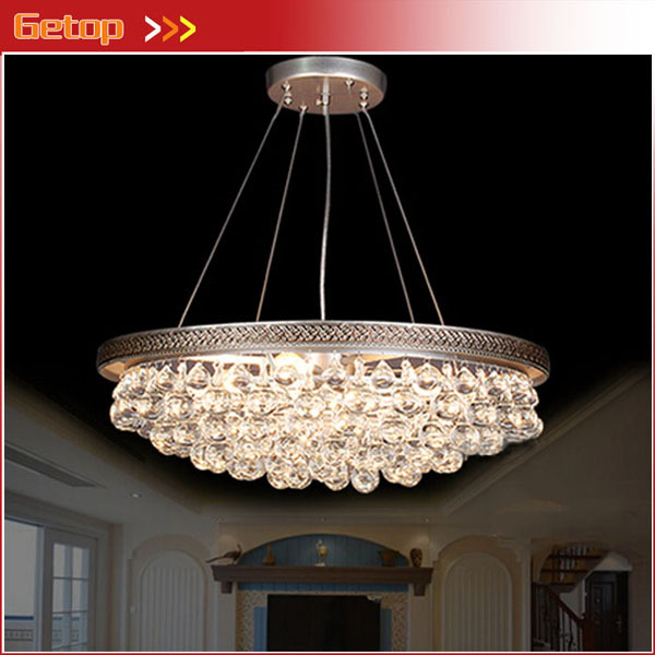 Best Price American Country Pastoral Simplify Crystal Chandelier E27 LED Crystal Lamp lustres de cristal pendentes best price 5pin cable for outdoor printer