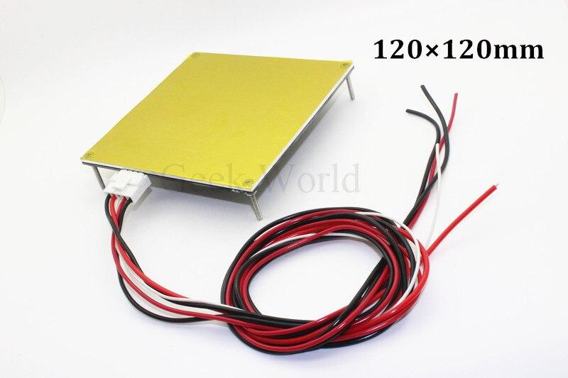 1pc Heatbed MK2B For Mendel RepRap mendel PCB Heated Bed MK2B For Mendel 3D Printer Hot Bed 120*120mm 12V R207 maria konopnicka mendel gdański