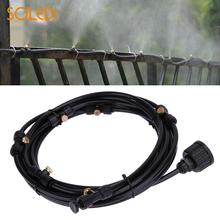 Watering Spray Nozzle Pipe Joint Water Sprinkler Multi-Function 6M Hose Sprinklers For Misting Cooling Humidification Patio
