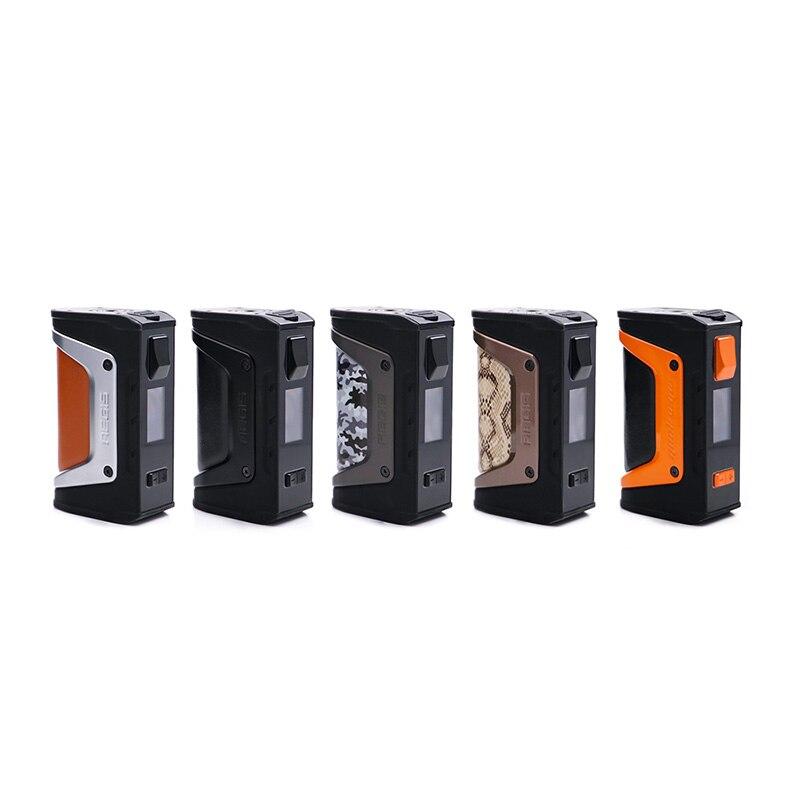 Grande vente GeekVape L'égide mod l'égide Légende 200 W boîte de tc MOD Alimenté par Double 18650 batteries e cig Pas de Batterie pour zeus rta blitzen
