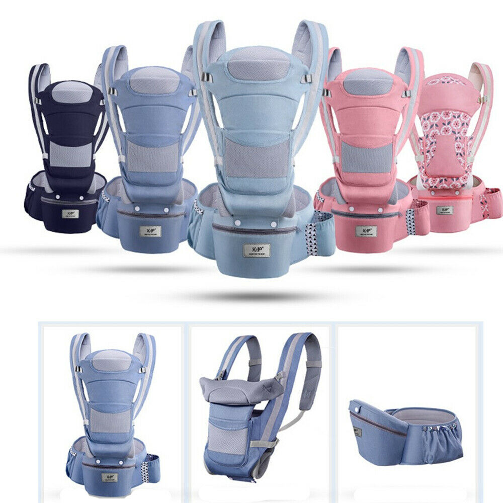 Image 5 - Baby Carriers Backpack Soft Comfortable Baby Carrier Wrap Cotton Breathable Wrap Kangaroo Bag Odorless Infant HipSeat-in Backpacks & Carriers from Mother & Kids