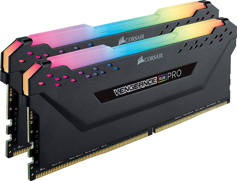 CORSAIR New RAM Memoria Module PC Memory Dual channel DDR4 RGB PRO PC4 Support motherboard ddr4