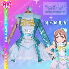 Lovelive Sunshine Aqours New Kunikida Hanamaru Dress Christmas Eve Sacred Snow Collaboration Awaken the power All Member
