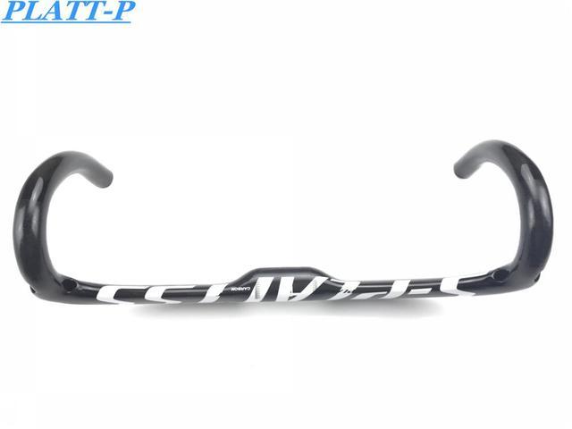 Style2 Fully Carbon Fiber Road Bike Handlebar Handlebars Twisted Bar Glossy Parts