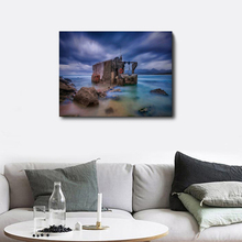 Laeacco Natural Landscape Posters and Prints Canvas Painting Wall Artwork Picture for Living Room Home Decor