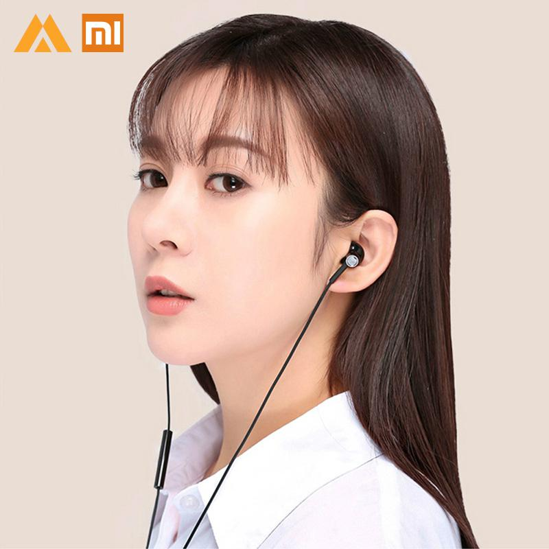Original Xiaomi earphone sport earphone USB Type C Earphone Half In Ear Earphones Wired Control With Microphone mi earphone