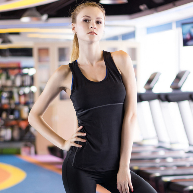 Yoga Tops Vest Women Sports Top Tank