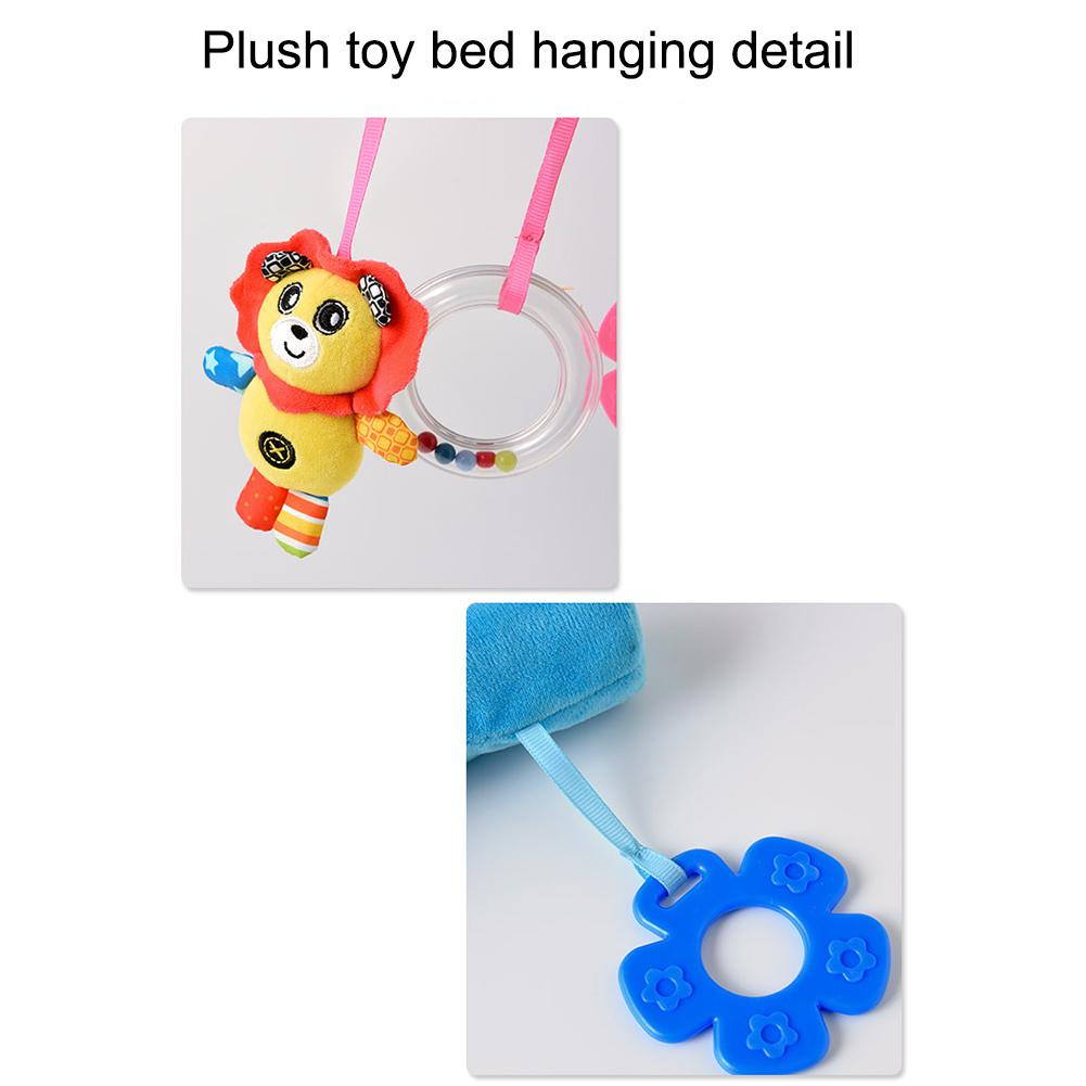 Baby Rattle Bed Bell Toys Kids Stroller Cartoon Animal Pendant Baby Cradle Ornament Bell Bed Hanging Rattle Bell Children 39 s Toy in Baby Rattles amp Mobiles from Toys amp Hobbies