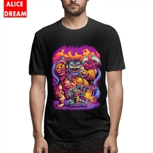 Mens O-neck GHOSTS N GOBLINS T Shirt Quality T-Shirt 100% Cotton S-6XL Camiseta