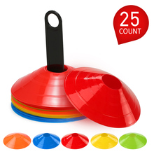 Disc-Cone-Set Plastic-Stand-Holder Game-Disc Football-Ball Soccer Training-Space Agility