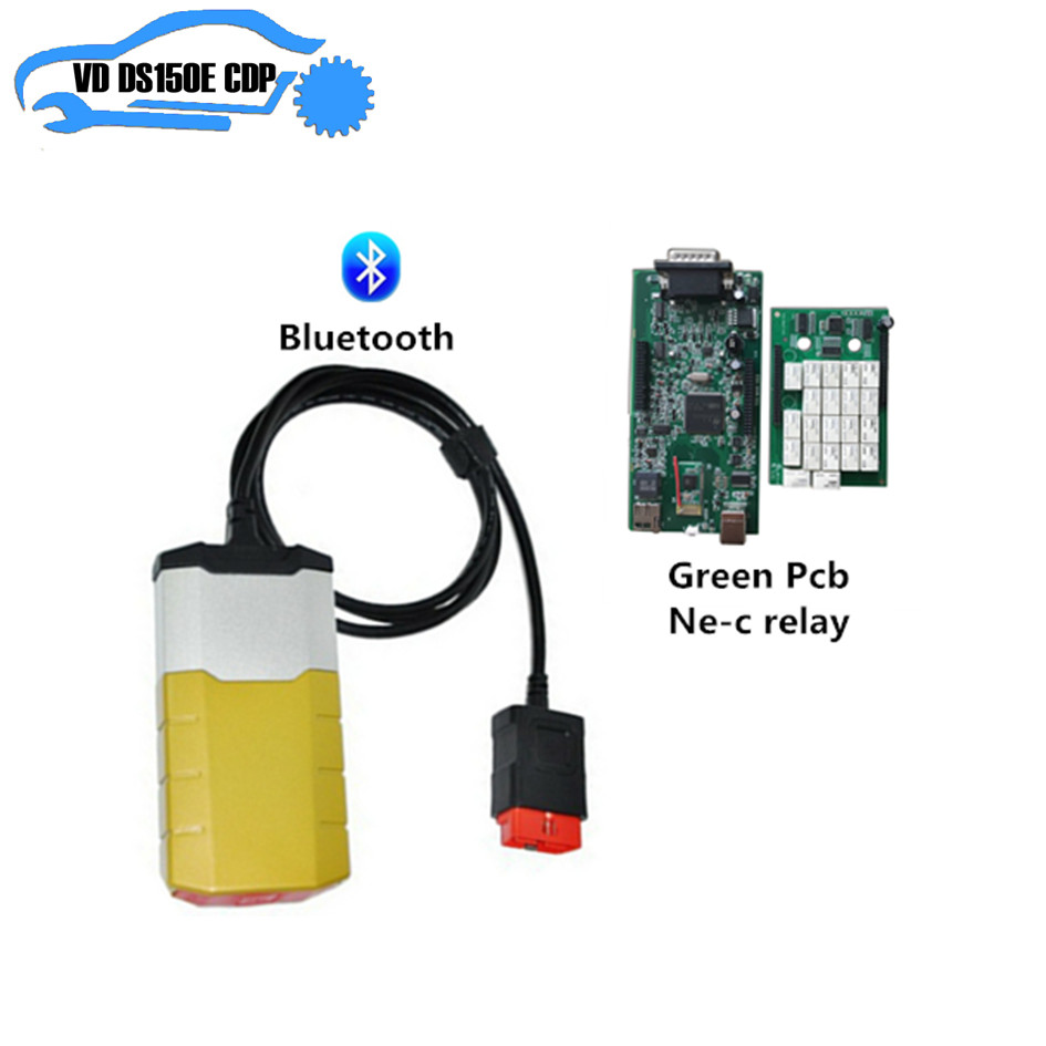 obd scanner for delphis 201503R3 keygen bluetooth with nec relays vd ds150e CDP 8 pcs car