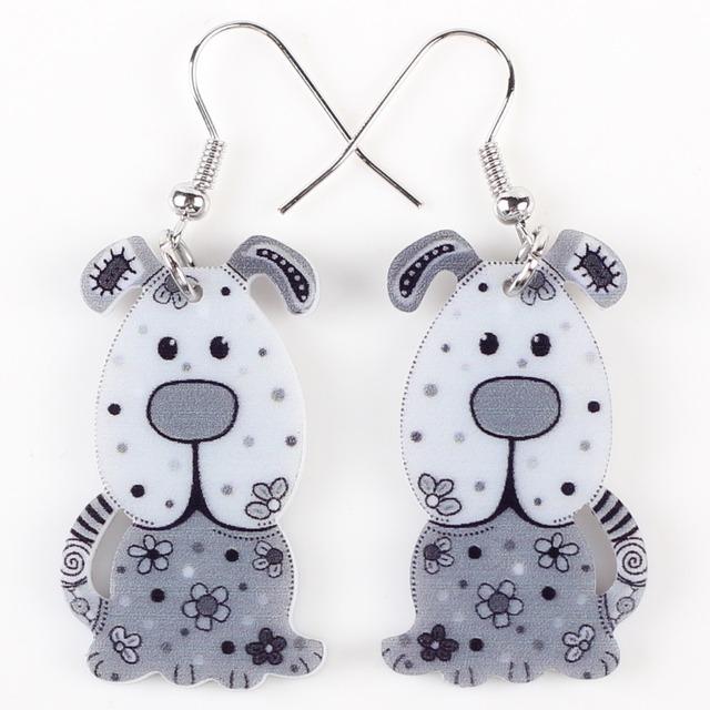 Women's Creative Dog Shaped Earrings