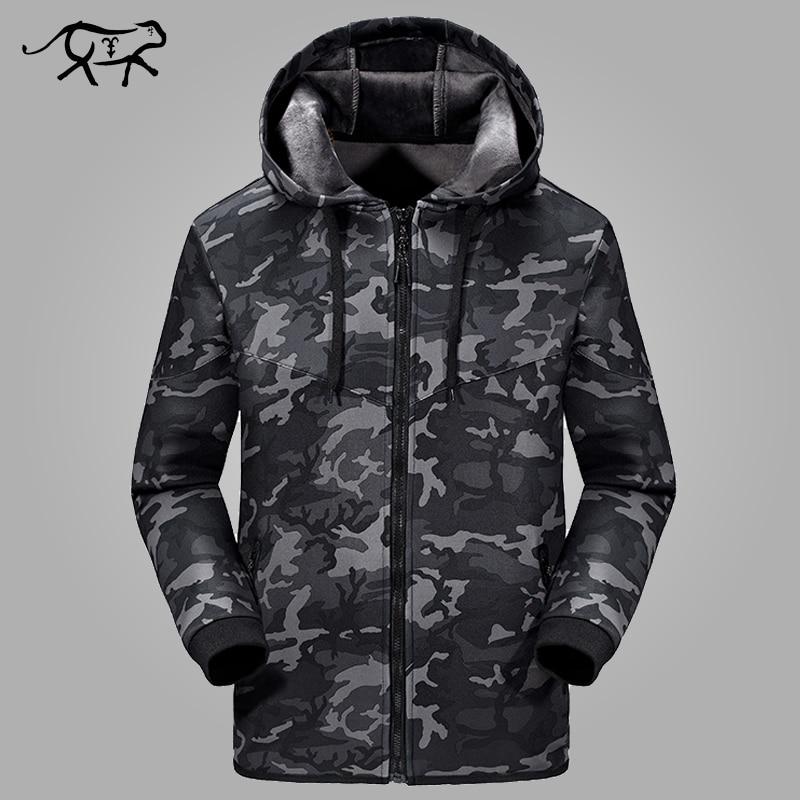 New Arrival Jacket Men Fashion Hooded Men's Jacket Soft Slim Outerwear Men Camouflage Coats Spring Brand Clothing Plus Size 5XL