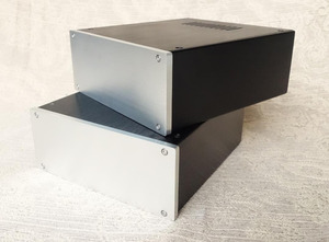Image 3 - JC229 all aluminum housing can be used as power box / preamp / amplifier chassis case