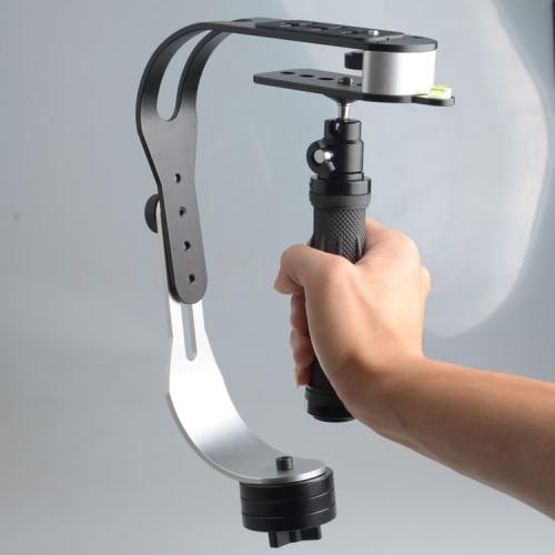 Black Professional Video Steadycam Steadicam Stabilizer for Digital Compact Camera Phone dslr for 5D2 5D3 60D DSLR Camera
