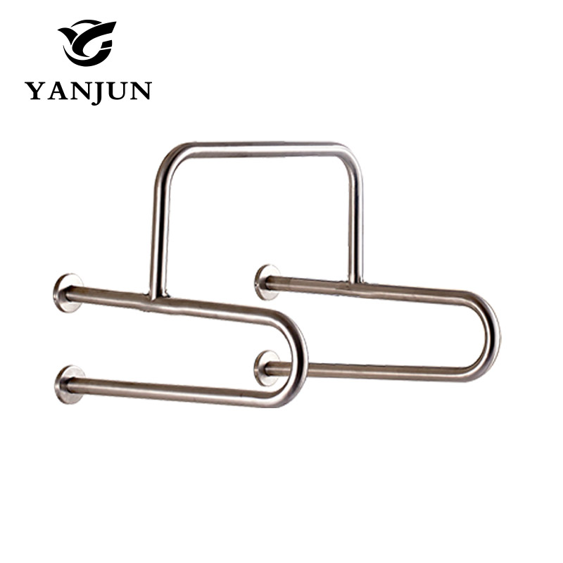 YANJUN Stainless Steel Disability Grab Rail Support Handle Bar Bathroom Safety Aid disability