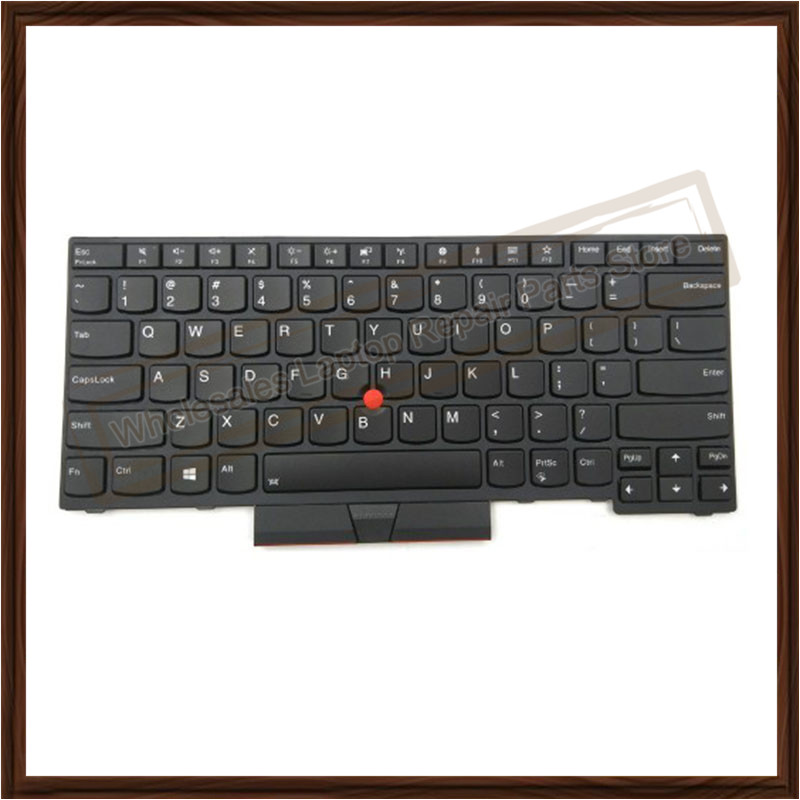 b1f9a4fc6e4 2019 Genuine New Black Keyboard For Lenovo Thinkpad E480 L480 L380 ...