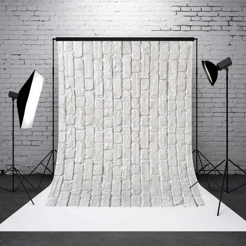 Mayitr 1pc 3x5FT White Brick Wall Backdrop Vinyl Wedding Brick Theme Photography Background for Photo Studio Props 7x5ft vinyl photography background white brick wall for studio photo props photographic backdrops cloth 2 1mx1 5m