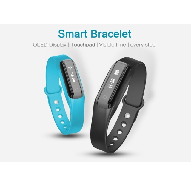 Smart Bracelet Fitness Tracker For Android 44+ iOS 8+ Smartphone
