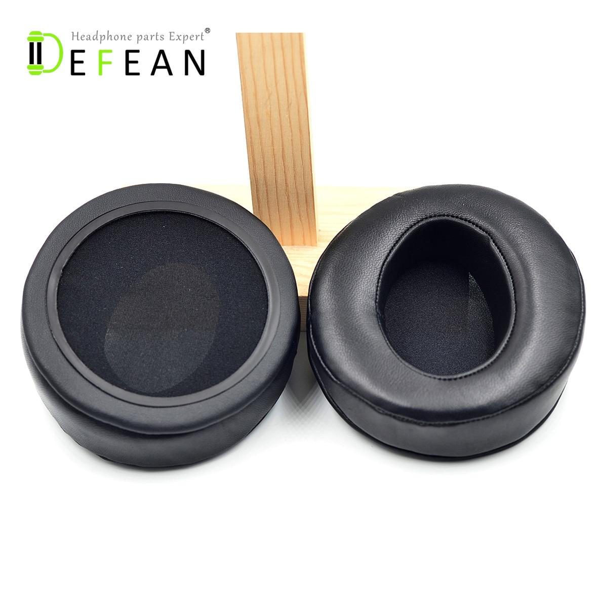 Defean Angle Genuine Leather Ear Pads Cushion for AKG K Series K550 K551 k553 Headset Headphones