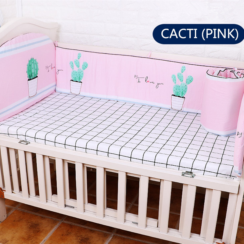 Cotton Baby Cot Bedding Set 5Pcs Cartoon Bed Bedding Set In The Crib For Infant Baby Crib Bed Toddler 4pcs Bumper+1pcs Bed SheetCotton Baby Cot Bedding Set 5Pcs Cartoon Bed Bedding Set In The Crib For Infant Baby Crib Bed Toddler 4pcs Bumper+1pcs Bed Sheet