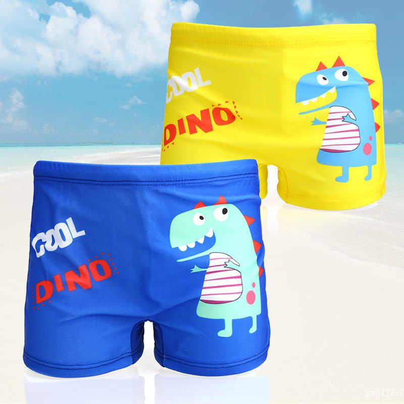 طفل رضيع سراويل للسباحة الديناصور الأسماك طباعة الكرتون ثوب السباحة الأطفال سروال سباحة قصير الاطفال طفل الشاطئ ملابس السباحة بركة السراويل