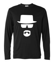 Breaking Bad Heisenberg T Shirt men Fitness harajuku brand clothing 2017 funny hip-hop camisetas