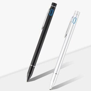 Image 5 - Aktywny rysik pojemnościowy dotykowy długopis do Samsung Galaxy Tab S3 S2 S4 9.7 10.1 S5E 10.5 A A2 A6 S E 9.6 8.0 Tablet metalowy ołówek