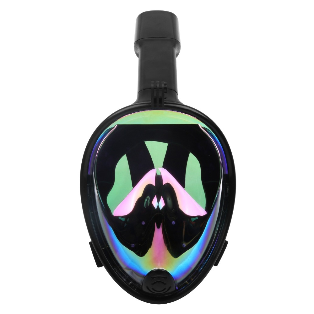 Bomba sumergible de buceo máscara de cara completa snorkel máscara bajo el agua Anti niebla snorkel máscara de buceo natación pesca submarina