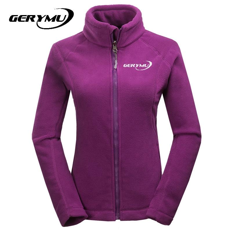 ФОТО women outdoor warm Hiking Polar Fleece Soft Shell hiking hunting camping Jacket Sports climbing Coats