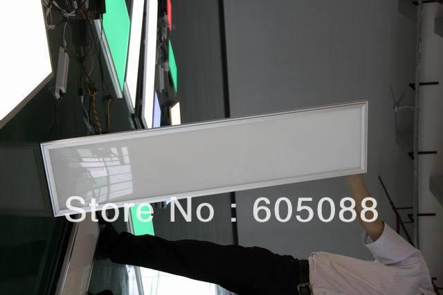 45 Вт яркость Регулируемый Embeded светодиодные панели 300x1200 мм супер поток dimmable плоские светодиодные лампы + индикатор питания адаптер + RF пульт