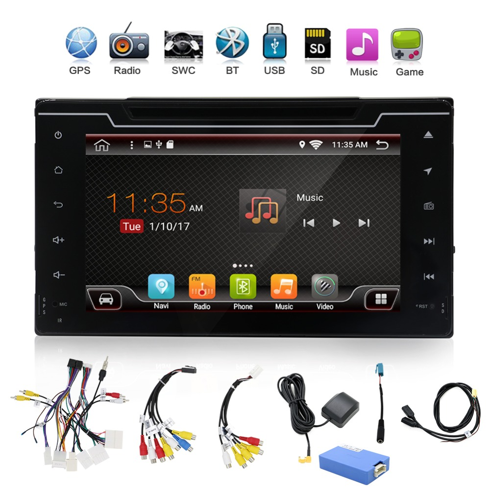 Car DVD Player for Toyota Corolla Auris Fortuner Estima vios Innova 2016 2017 2018 gps navigation car playerCar DVD Player for Toyota Corolla Auris Fortuner Estima vios Innova 2016 2017 2018 gps navigation car player