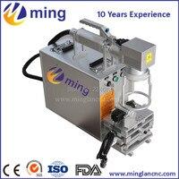 20w Portable Fiber Laser Marking Machine With Rotation Axis Metal Laser Engraving Machine