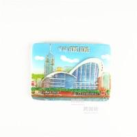 Quality Fridge 3D Magnet Hong Kong Convention And Exhibition Center HKCEC 00225