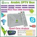 Caja del IPTV árabe, Caja androide de la TV con 1000 canales Árabes, disfrutar de Árabe canales de TELEVISIÓN En Vivo